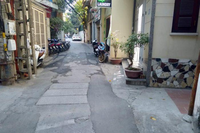 Bán đất lô góc ngõ 36 Đào Tấn tiện xây văn phòng