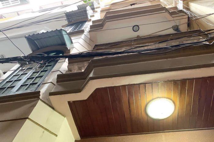 Bán nhà ngõ 629 Kim Mã diện tích 38m2 xây 6 tầng giá 5,35 tỷ