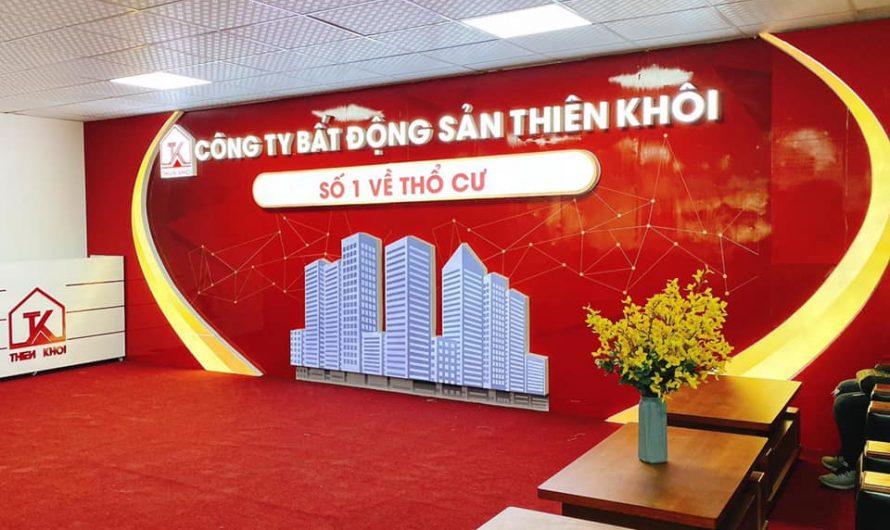 Bất Động Sản Thiên Khôi tổ chức khóa học đào tạo môi giới Bất động sản tại Hà Nội và TP.HCM